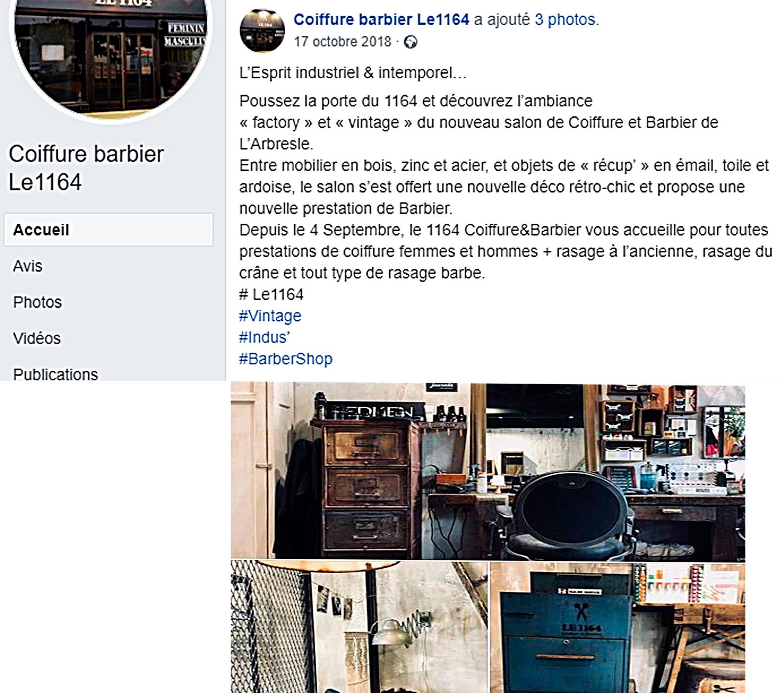 Post FB Le 1164 Esprit industriel