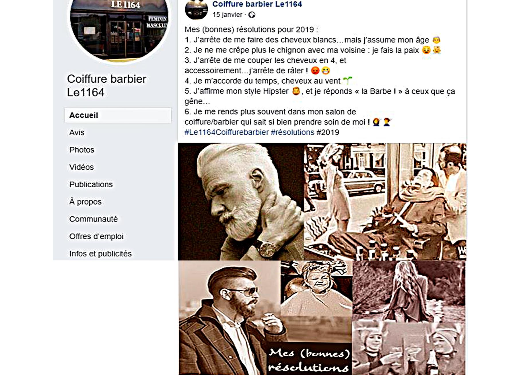 Post FB Le 1164 Résolutions 2019